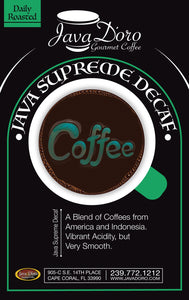 Java Supreme Decaf