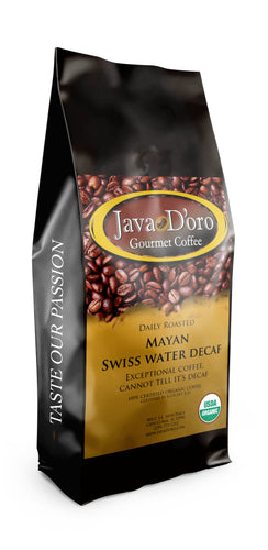 100% Organic Mayan Swiss Water Decaf