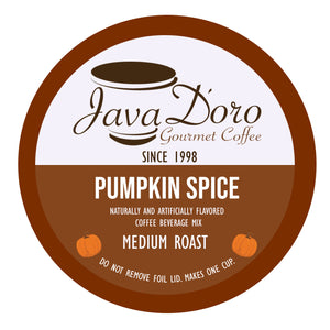 Pumpkin Spice Flavored Coffee Pods - 18 Count