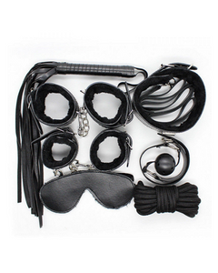 Couple Fun -7  Pieces Bondage Kit