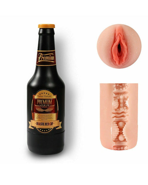 Beer Bottle Masturbation fleshlight