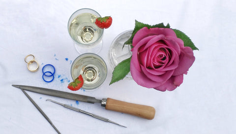 Wedding Workshop option B - Workshop + 2 course meal for two & Bottle of wine
