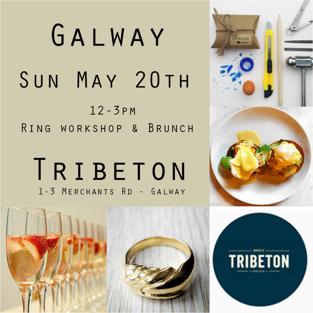 Carve @ Tribeton May 20th 12-3  (Workshop, lunch and prosecco-Ring additional - See description)