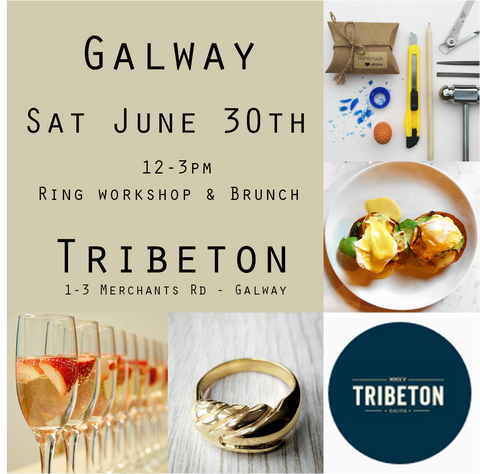 Carve @ Tribeton June 30th 12-3  (Workshop, lunch and prosecco-Ring additional - See description)