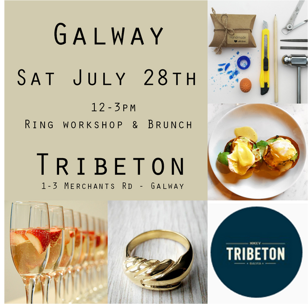 Carve @ Tribeton July 28th 12-3  (Workshop, lunch and prosecco-Ring additional - See description)