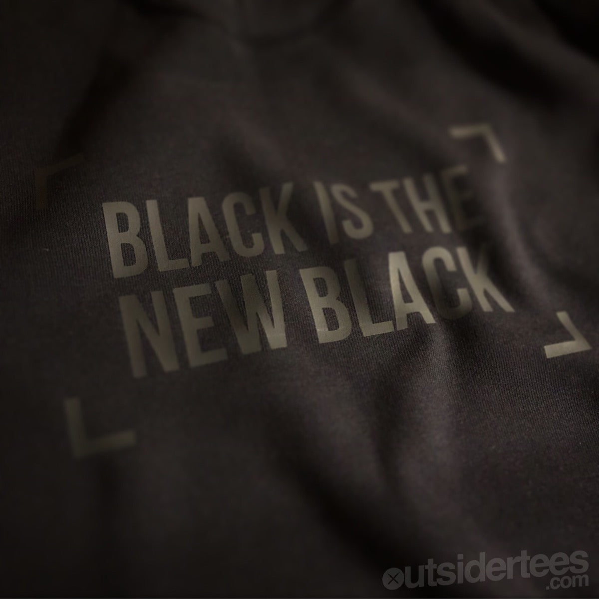 BLACK IS THE NEW BLACK T SHIRT