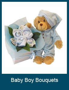 Baby Boy Bouquets
