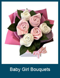 Baby Girl Bouquets