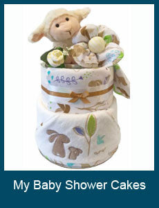 My Baby Shower Nappy Cakes