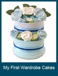 My First Wardrobe Nappy Cakes