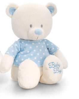 Baby Plush Toy - Baby Bear With T-shirt