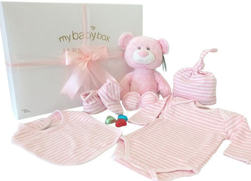 Teddy Baby Girl Hamper