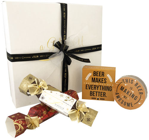 Christmas Gift Box - Premium Beer Coaster Set