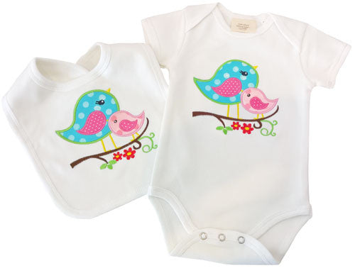 ee4e1f7a6 Sweet Birds Baby Girl Ultimate First Wardrobe Nappy Cake