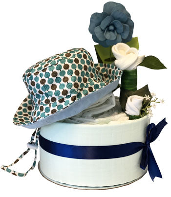 My First Wardrobe Cake - Premium Teal Bucket Hat
