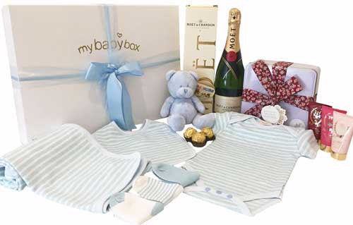 Luxury Gift Hamper Ultimate Essentials Baby Boy