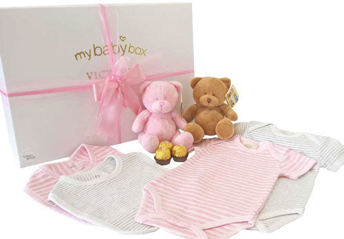 My Little Twins - Premium Bubzee Pink/Grey Set