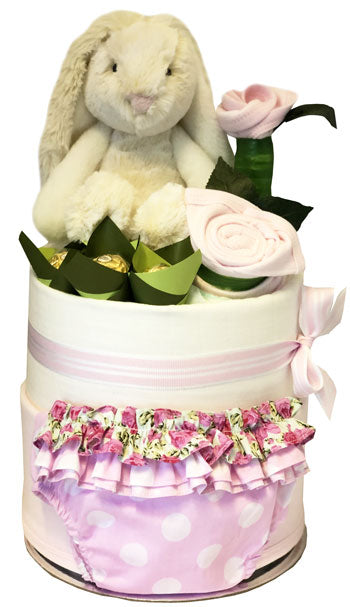 My First Wardrobe Cake - Ultimate Bunny & Ruffle Set