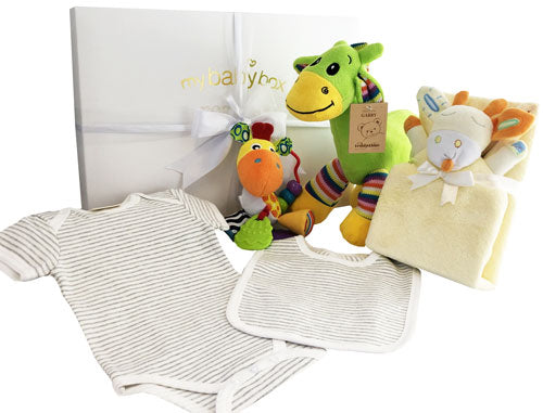 Unisex Play Time Hamper with colourful giraffe