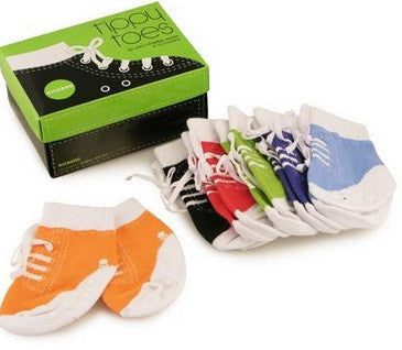 Tippy Toes Kicker Socks Set of Six