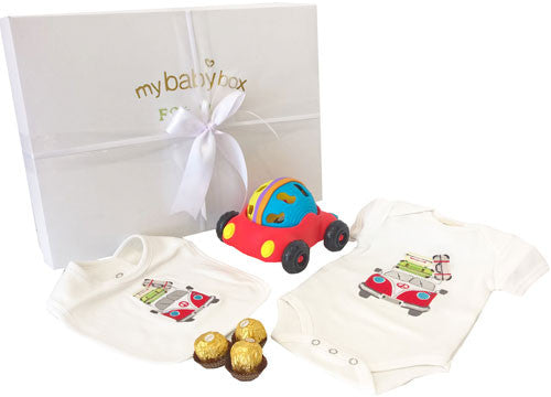 Play Time Baby Hamper - Kombi Van - Rattle n Roll Car