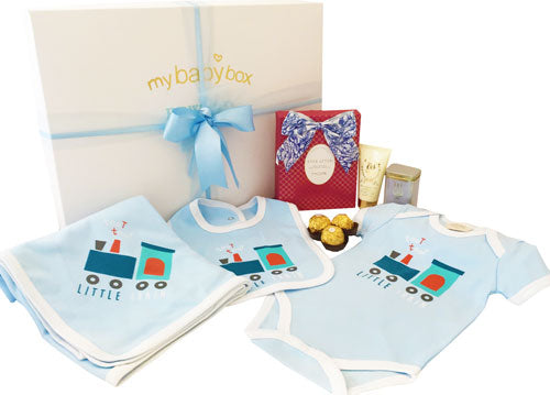 My Mum and Bub - Deluxe Little Train and MOR Pamper Set