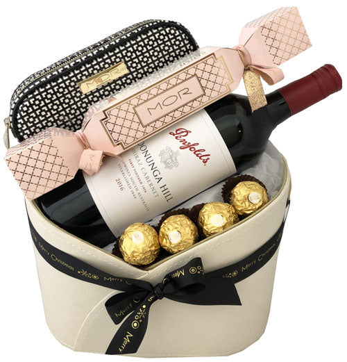Christmas Hampers - Deluxe Penfolds & MOR Marshmallow Set