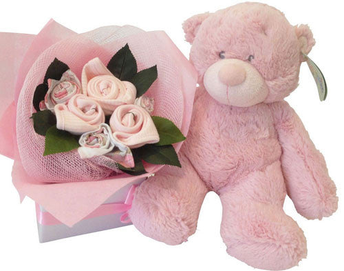 Baby Girl Bouquet - Ultimate Plush Marshmallow