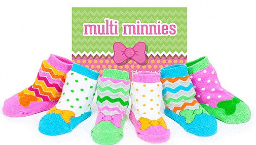 Tippy Toes Multi Minnies Set of Six
