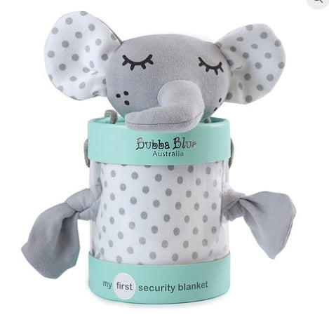Petite Elephant Security Blanket