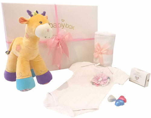 Play Time Baby Hamper Giraffe and Baby Clothing Set
