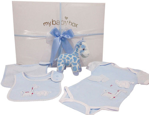 Baby Boy Hamper - Twinkles Giraffe and clothing set