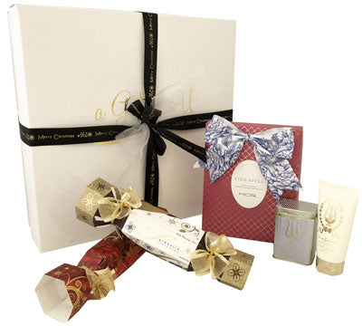 Christmas Gift Box - Premium MOR Snow Gardenia Set