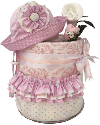 Baby Summer Wardrobe Nappy Cake