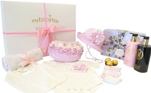 Baby Girl Luxury Gift Hamper - Designer Clothing MOR Marshmallow Set
