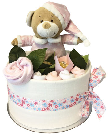 My First Teddy Cake - Special Field of Flowers