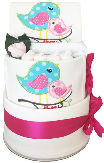 My First Wardrobe Cake - Ultimate Sweet Birds Embroidery Set