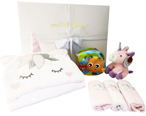 Bath Time Hamper Unicorn Set