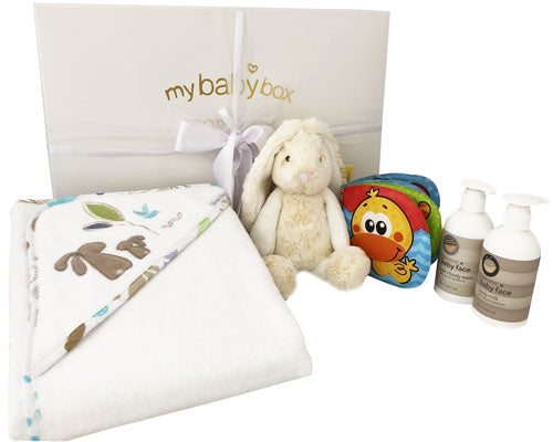 My Bath Time Hamper Utopia Bunny Bath set