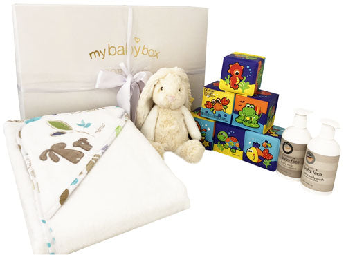 My Bath Time Hamper Utopia Bunny and Soft cube set