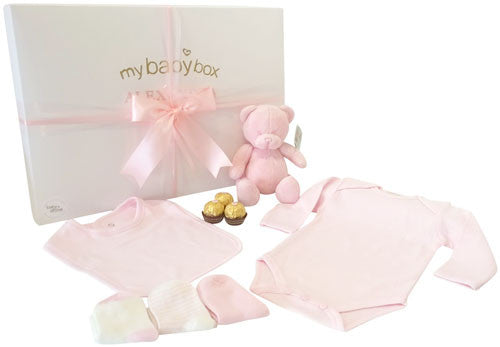 Baby Girl Teddy Hamper
