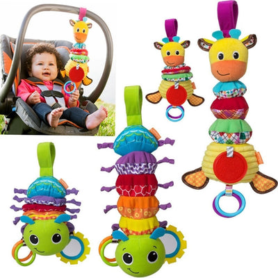 Crib Hanging Animal Rattle