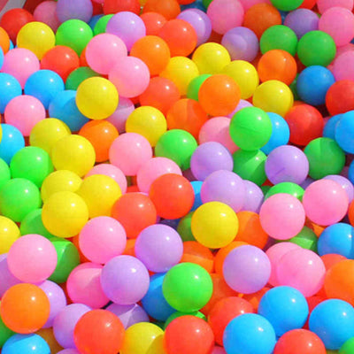 Colorful Plastic Pool  Soft Balls