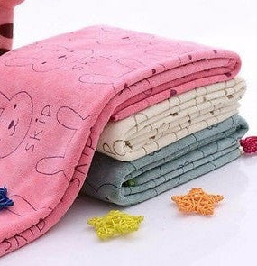 Microfiber Kids Bath Towel