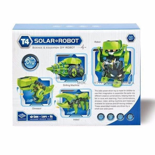 Creative Super Solar DIY Block Robo