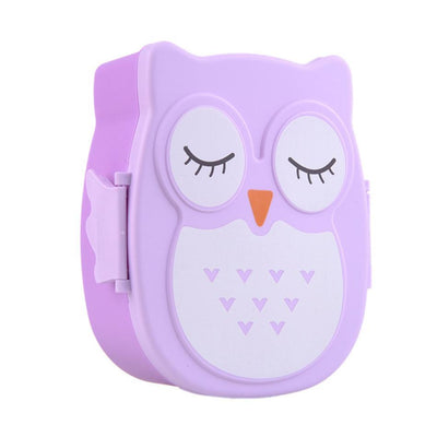 Cartoon Owl Lunch Container