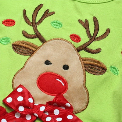 Christmas Clothing Deer Shirt and Leggings