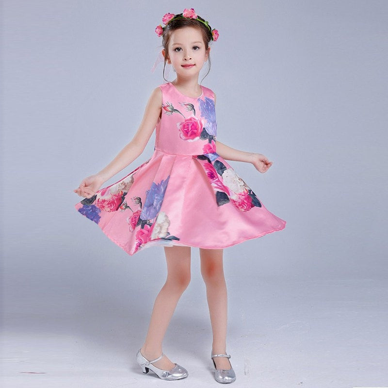 Stylish Girls Party Dress - Momeaz