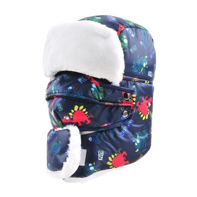 Child Winter Windproof Thick Cap