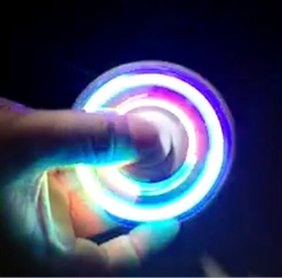 LED Light Finger Spinner